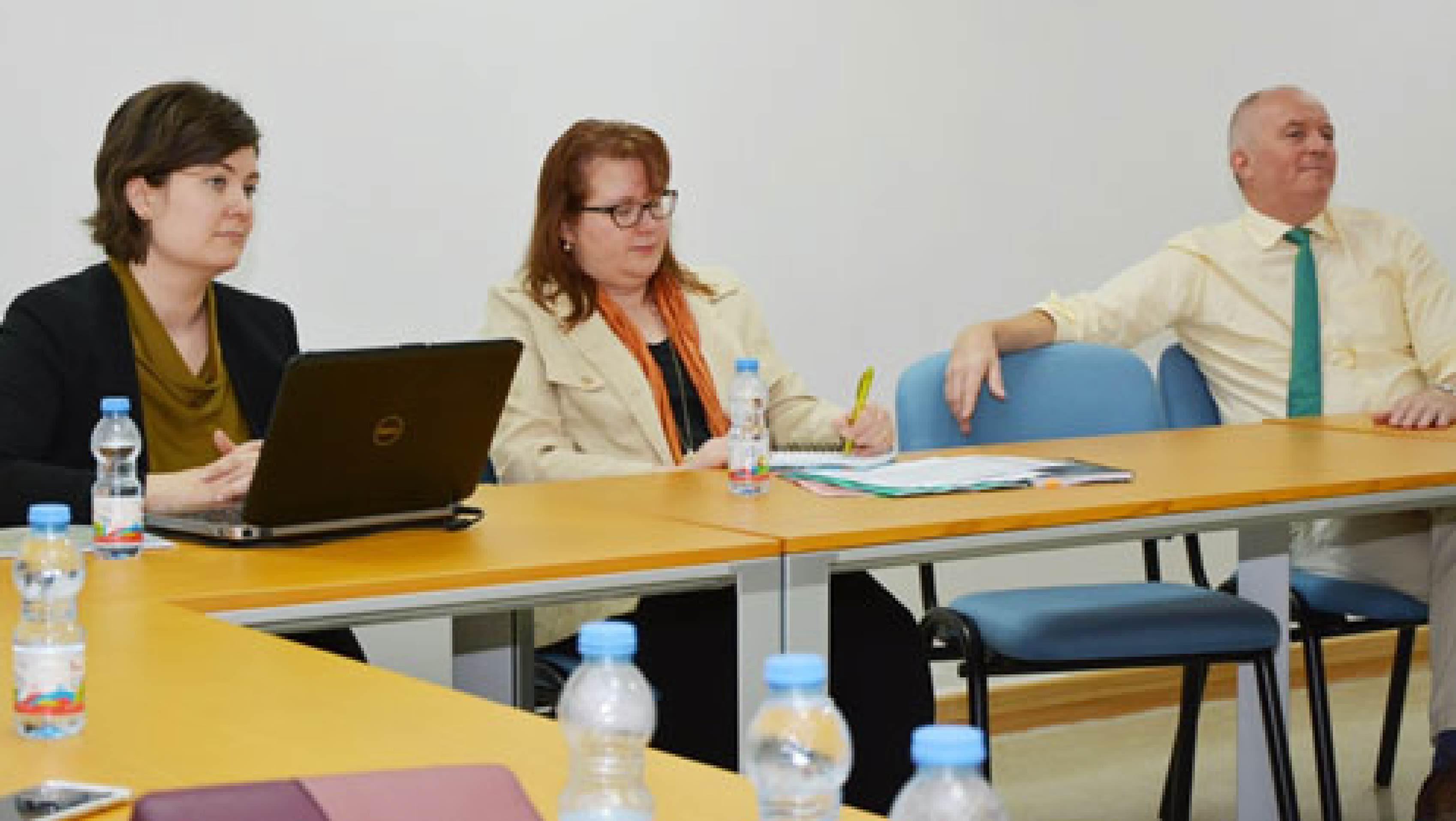 """تعاون جامعة <span class=""""engNarb"""">Turku</span> الفنلندية مع المركز التخصصي في مجال البحث"""