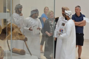 Educational field trip to the National Museum within the English Language Program.